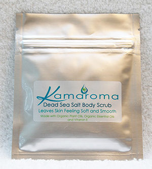 Sample Dead Sea Salt Body Scrub