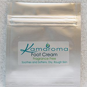 Sample Foot Cream Fragrance Free